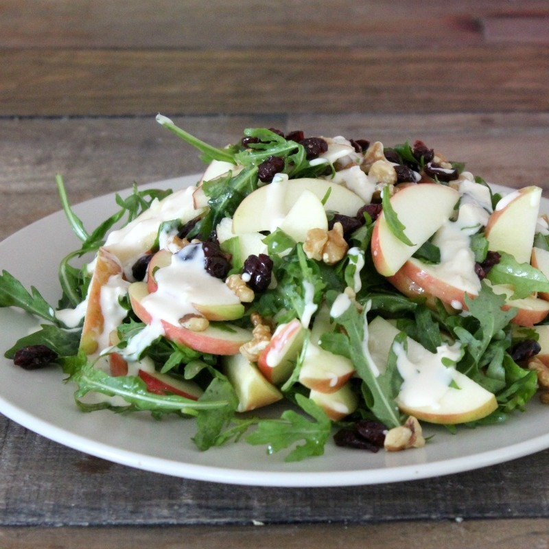 Simple Salad Series: Apple Salad with French Onion Dressing