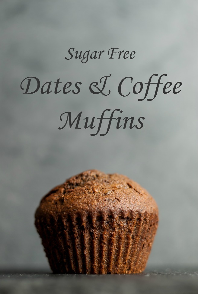 Sugar Free Dates & Coffee Muffins
