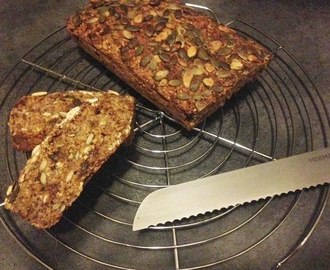 RECEPT: Havermout Pompoenbrood