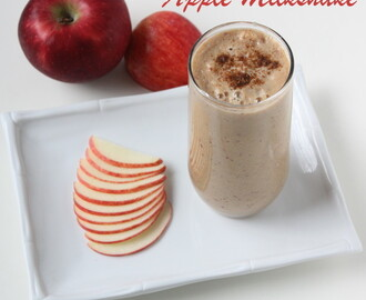 Apple Cinnamon Milkshake | Apple Milkshake | Apple Smoothie