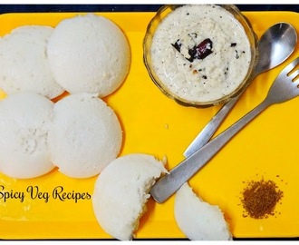 Idli Recipe - Soft and Spongy Idli Recipe - South Indian idli