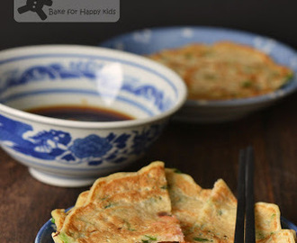 Traditional Korean Rice Pancakes (Pajeon)