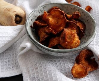 Healthified: Pastinaak chips