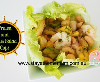 Prawn and Citrus Salad Cups