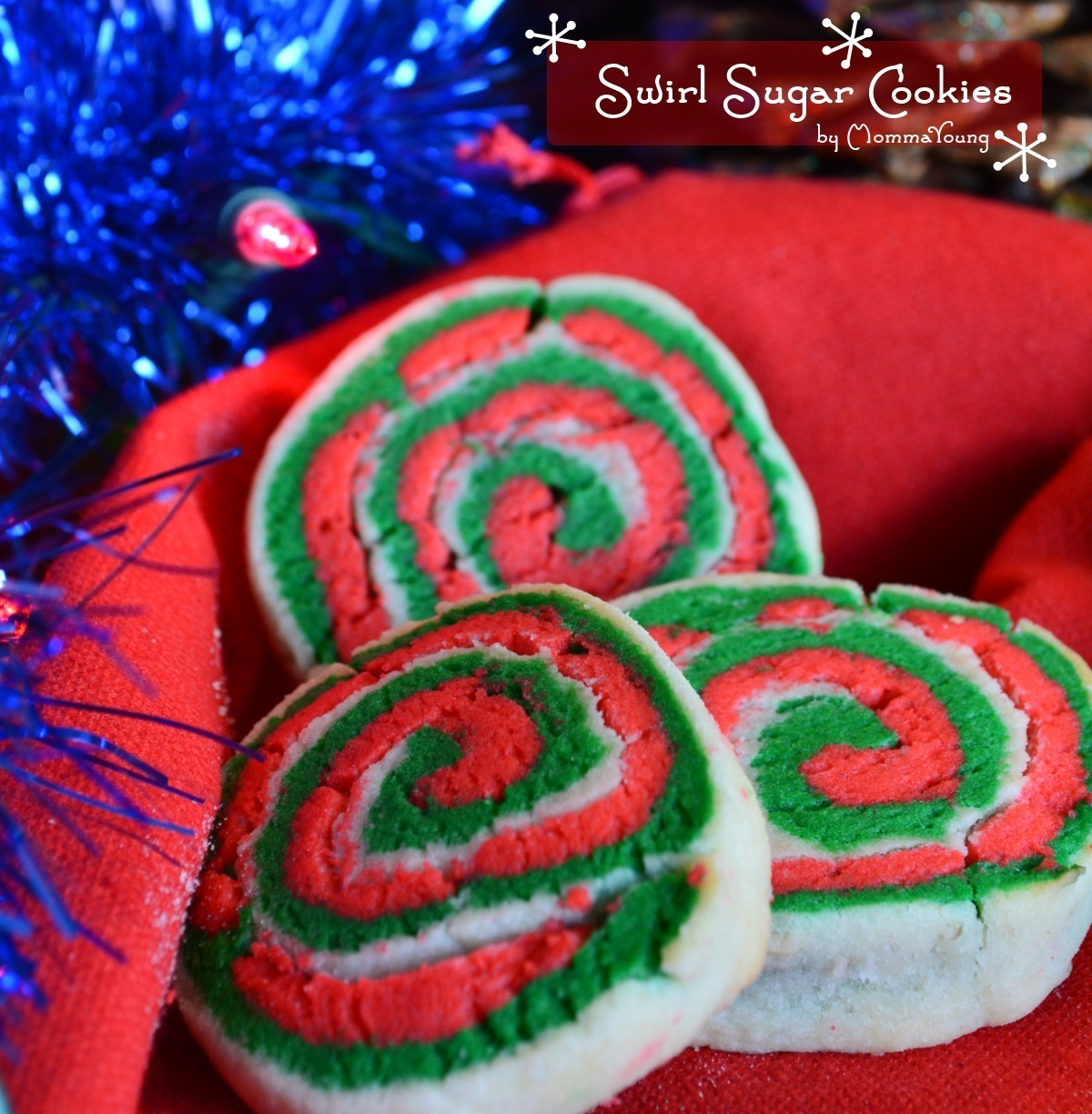 Christmas Cookie Party: Swirled Sugar Cookies