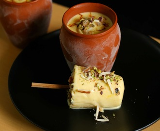 mango kulfi recipe | easy no cook mango kulfi recipe with milkmaid