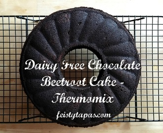 Dairy Free Chocolate Beetroot Cake - Thermomix