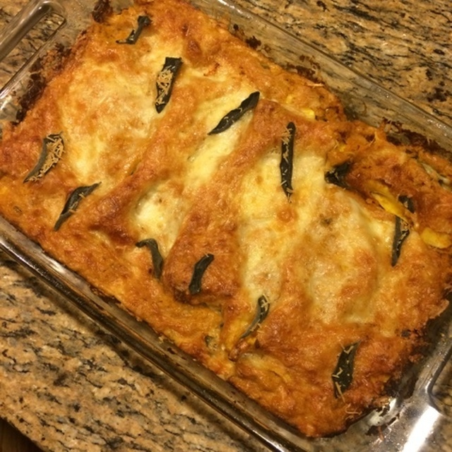 Vegetarian Thanksgiving Lasagna