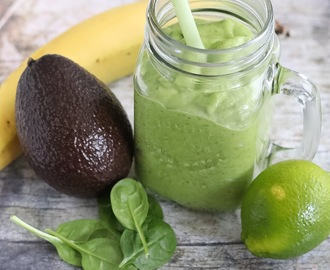 Smoothie met Avocado en Spinazie