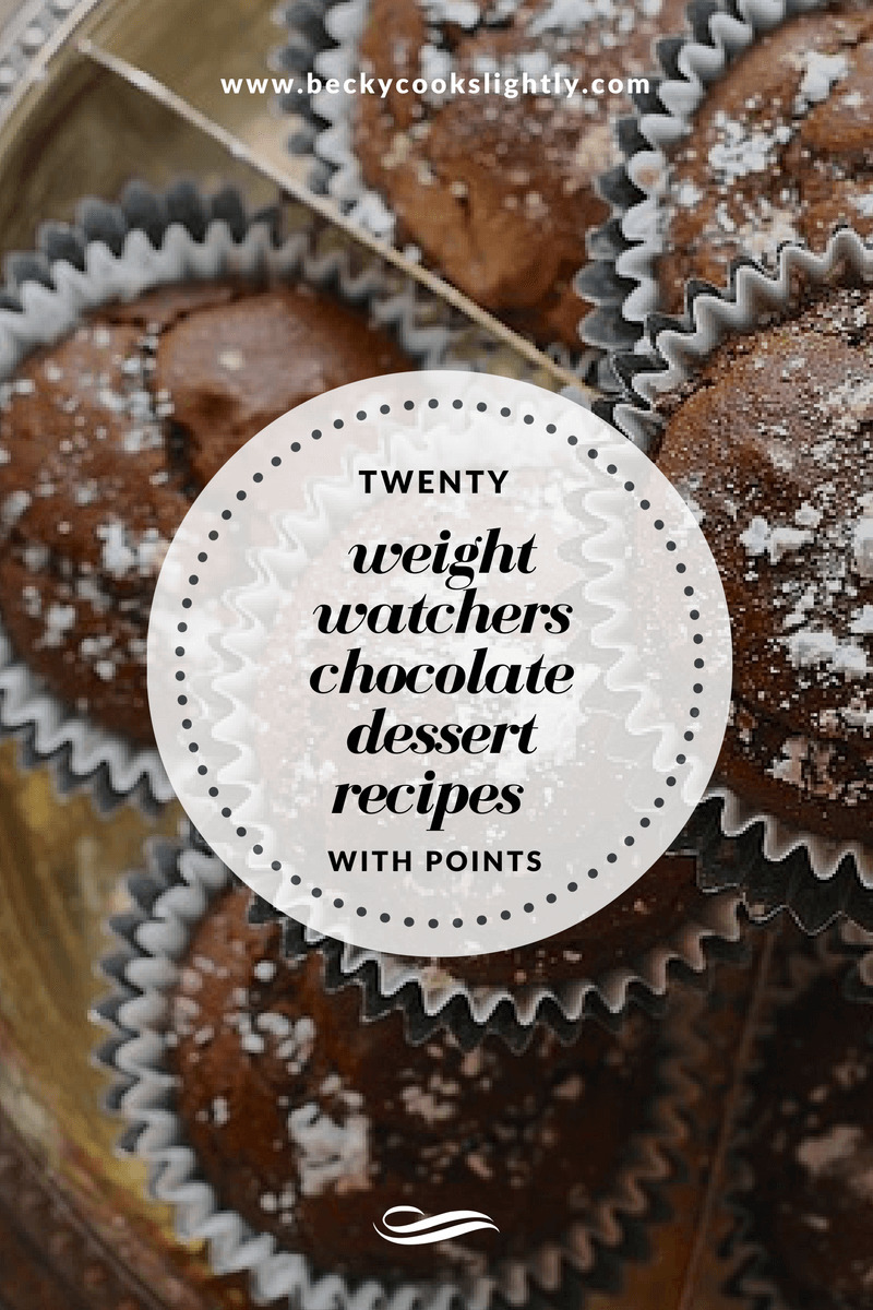 20 Weight Watchers Chocolate Dessert Recipes With Points