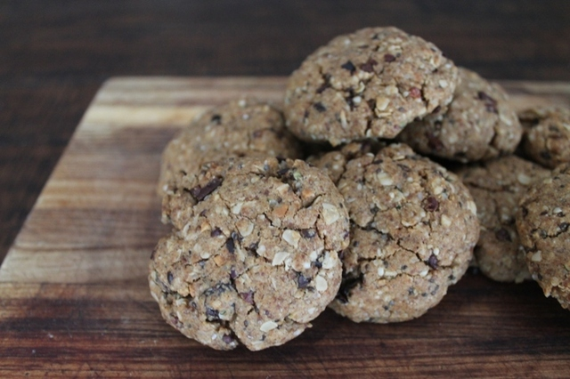 Chia & Oat Biscuits! Gluten, Dairy & Egg free! Big Batch!