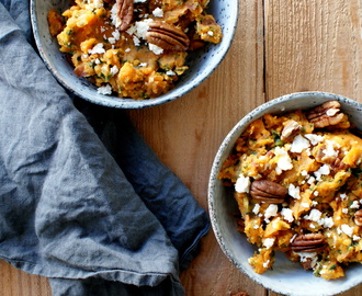 SWEET POTATO, KALE & PECAN MASH