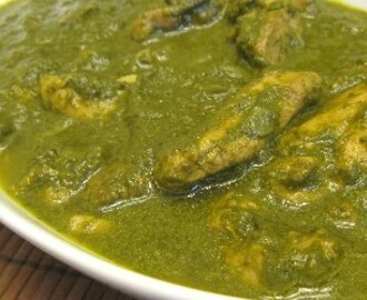 Chicken Palak (Spinach)
