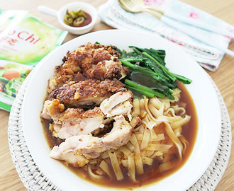 Chicken Chop Ipoh Hor Fun