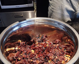 Christmas pudding recipe - a family tradition