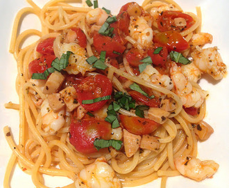Spaghetti marinara recipe - light and tasty