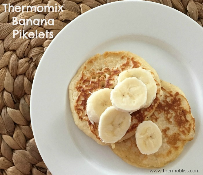 Thermomix Banana Pikelets