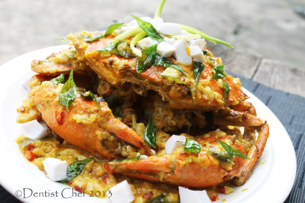 Stir Fry Crab with Salted Egg Yolk and Cheese Sauce Recipe ala Dentist Chef
