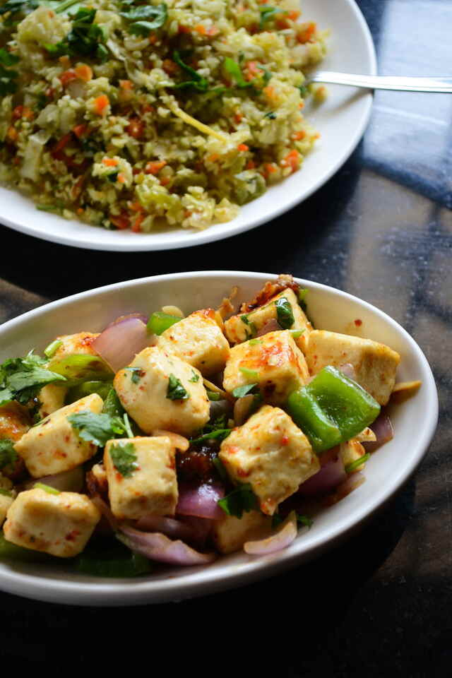 Chilly Paneer Recipe – Easy Vegetarian Paleo Recipes