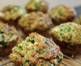 Savoury Sunday: Spinach and Feta Muffins