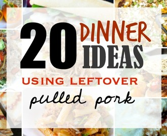 Comment on 20 Easy dinner ideas using leftover pulled pork by Ciara Stick