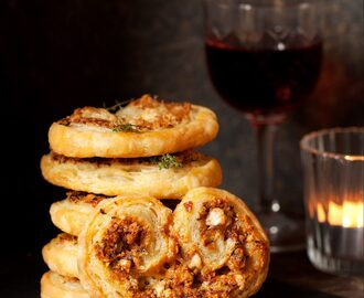Hazelnut Taleggio Cheese Palmiers + JORD Watch Competition