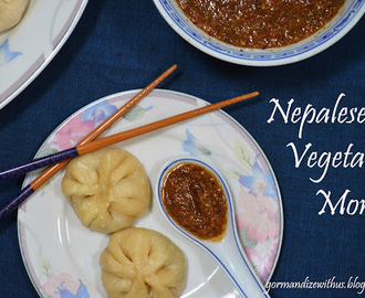 Nepalese Vegetable Momo with Chilli Sesame Dipping Sauce