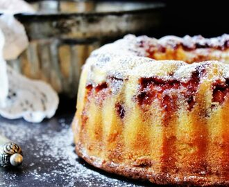 Butter and Jam Bundt Cake