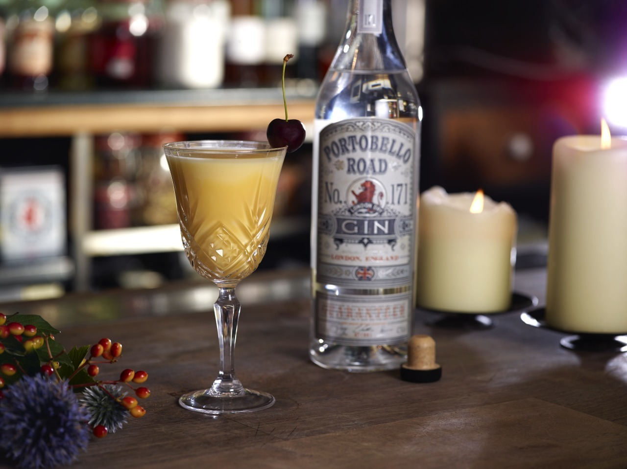 Christmas Cocktail: The Improved Snowball