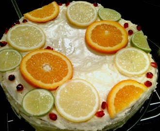 Annabel Langbein's 5 Minutes Lemon Coconut Cake