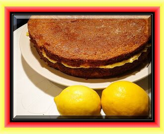 Rich Lemon Sponge with Mascarpone and Lemon Curd