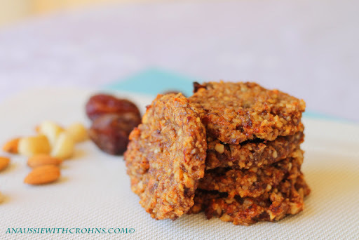 Chunky Fruit & Nut Cookies (Paleo & SCD)