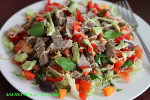 Everyday Lunch Salad (Paleo & SCD)