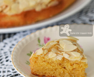 Mix-and-Bake Flourless Almond Coconut Vanilla Cake (Belinda Jeffery)