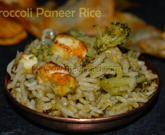 Broccoli Paneer Rice