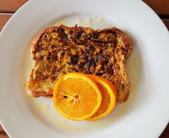 Spiced Orange French Toast
