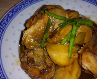 EZCR#43  - TAIWAN FLAVOUR BRAISED CHICKEN WITH ARROWROOT
