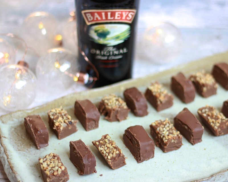 Baileys, Chocolate & Hazelnut Fudge Sponsored by Baileys