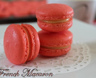 French Macaron With Lemon Cream
