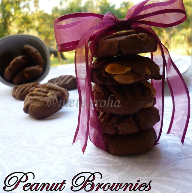 Peanut Brownies