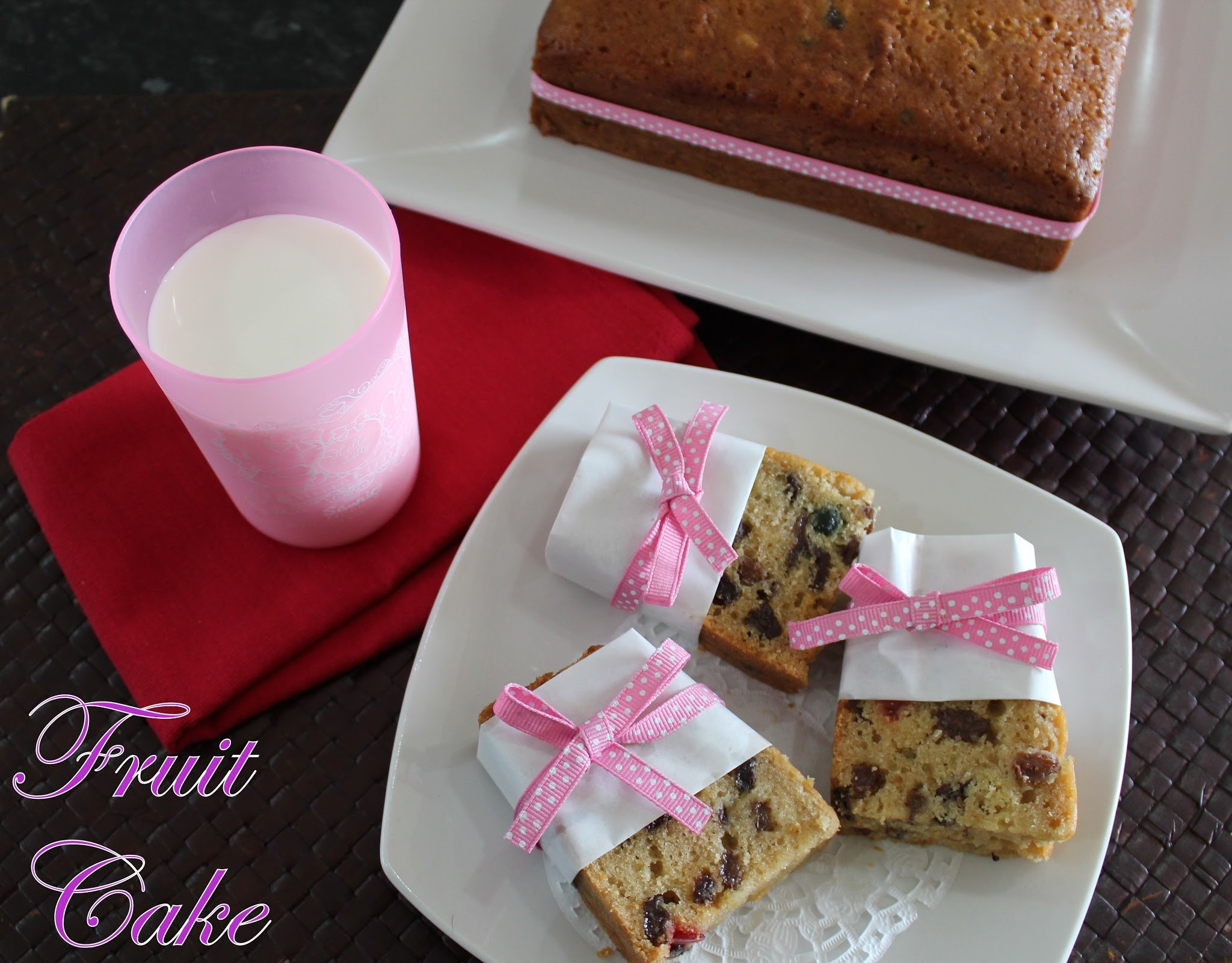 Easy Peasy Fruit Cake