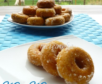 Kuih Keria (Sweet Potato Donut)