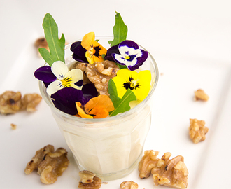 Recept Panna cotta met walnoot