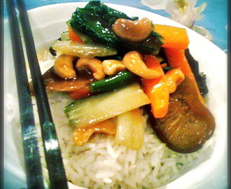 Chinese Vegetables with Cashew Nuts