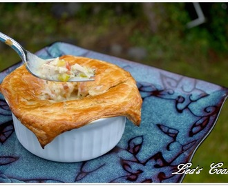 """Chicken Mushroom Pot Pie"""