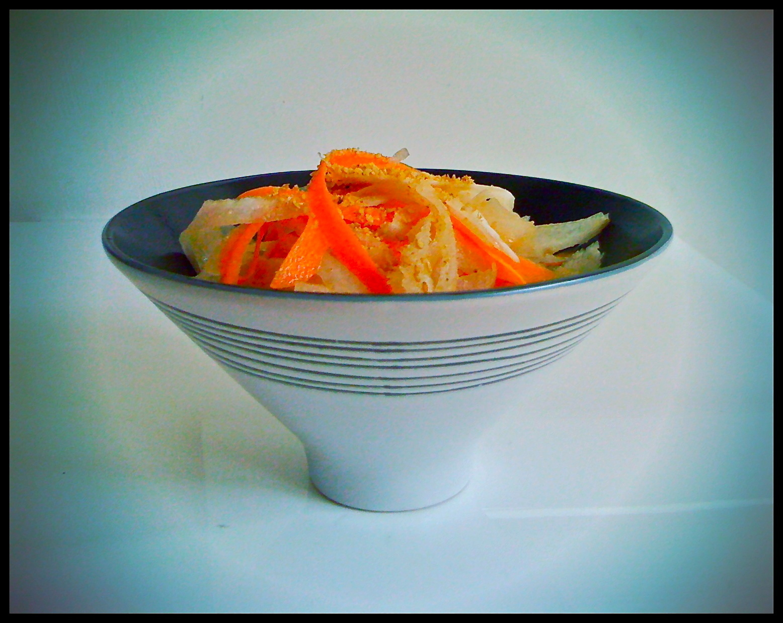 Daikon and Carrot Salad with Miso and Toasted Sesame Seeds (and NZ hottest Home baker)