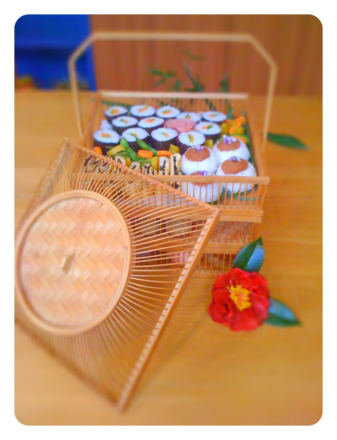 Japanese Bento Basket