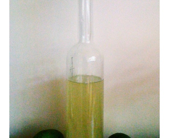 Feijoa and lemon zest cordial