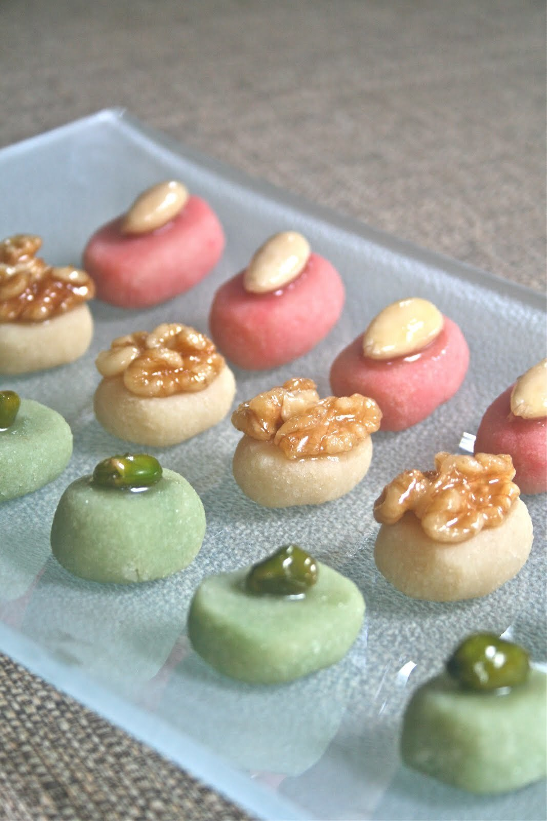 Home Made Marzipan Sweets