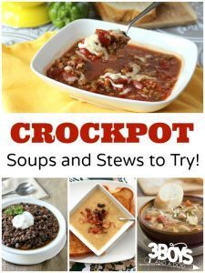 Crockpot Soups and Stews Recipes